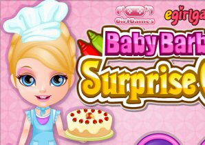 Baby Barbie Cake Surprise
